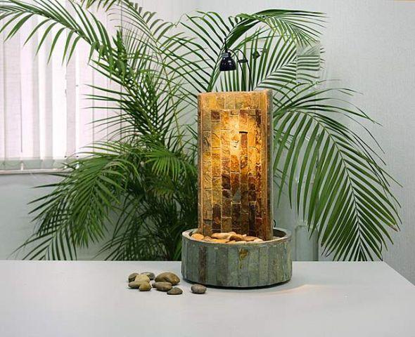 Как сделать декоративный фонтан без насоса